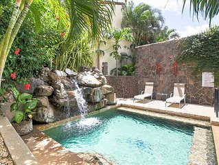 House in Gated Community with Pool and Walking to Sandy Beach