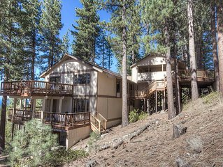 Luxury Lake View at Heavenly, BBQ, Hot Tub, Fireplace, BBQ, Deck (HCH1221)