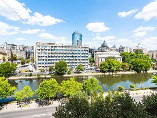 4 bedrooms luxury apartment 120 sqm, situated in the heart of Bucharest
