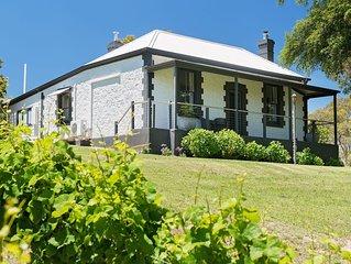 Idyllic vineyard accommodation in the Adelaide Hills