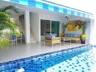 3Bed with a private pool at near beach