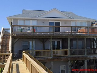 4 Reel - Large Oceanfront Home with Hot Tub and Views, Views, Views!