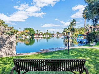 3BR  RESORT-STYLE HOME WITH PRIVATE POOL  IN TEMPE LAKES COMMUNITY