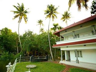 Elegant & Modern Lake View Resort,Alleppey