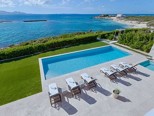 Book 6 Get 7th Night Free for Eligible Dates at Oceanfront Beaches Edge Villa!