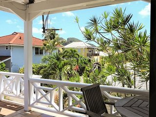 Picturesque newly renovated villa steps away from the beach