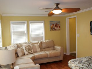 Steps From the Beach and Boardwalk - WiFi, Laundry and Linens Included!