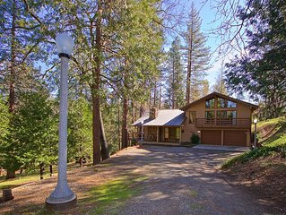 Nature's Haven - Custom Cabin Bordering Nat. Forest By Yosemite/Bass Lake