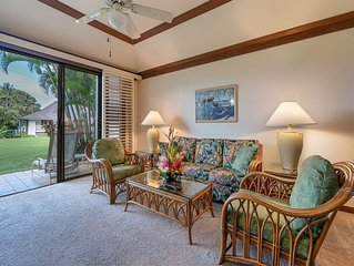 Poipu Style+Ease w/Kitchen, Lanai, WiFi, Flat Screens, DVD, CD+Ceiling Fans–Kiah