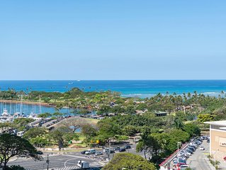 Hotel Type Best Price Ocean and Park View! Ala Moana (AH11)