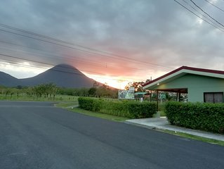 Casita Green with Arenal Volcano view