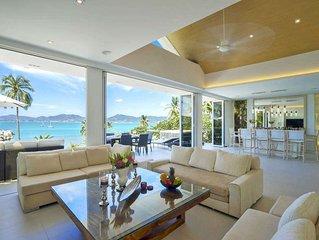 Beachfront Villa Nirvana