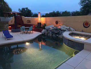 Sunset Room - Pool, Hot tub & Ramada with Kitchen
