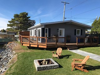 Waterfront home with amazing views of St Lawrence