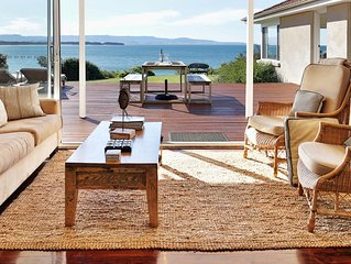 Escape*Culburra ABSOLUTE BEACH FRONT luxury beach house with amazing views