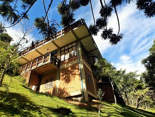 Casa super decorada, Wi-Fi, Cozinheiro de forno e fogao Prox. a Capivari