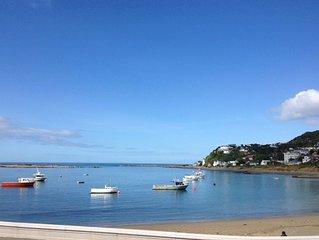 Island Bay Wellington stunning beach front bach