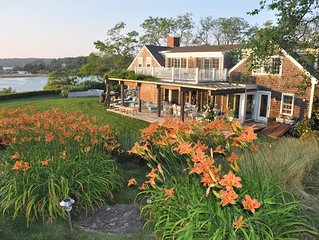 Eagle's Neck 10 acre Private Waterfront Compound, Ideal for families
