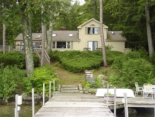 CHA104Wf - Beautiful 3 Bedroom On Black Point in Alton Bay