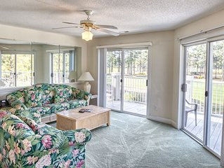 Full Kitchen, 2 Bedrooms, 2 Bathrooms, Golf Resort, Close to Beach and dining in