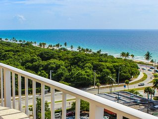 Ocean Front 1 Bedroom Condo - Central Ft Lauderdale Beach - Excellent Location!