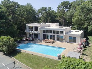 Completely private, family friendly luxury  Quogue rental - Pool, Spa, Tennis.