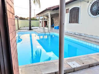 Linda e aconchegante casa Piratininga Ampla piscina e churrasqueira