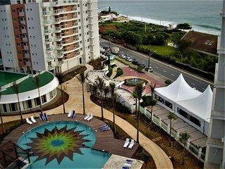 Apto na Praia da Armação - Penha/SC - Cond. Nautilus H. Club - 100m  da Praia