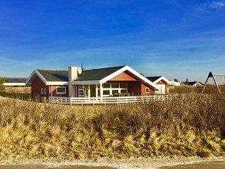Lakolk Strandhaus mit SPA und Sauna. 250 meter zum Strand. Liegt in den Dünen