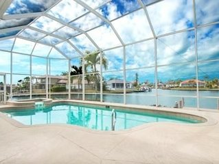 Amazing Wide Water Views Pool & Spa Home with Dock