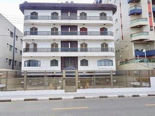 Apartamento em Mongagua - Predio em frente a praia