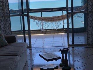 Cobertura  Penthouse de Luxo- Frente para a Praia do Morro