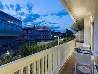 Acropolis Apartment with Spectacular View (2 Bdrs)
