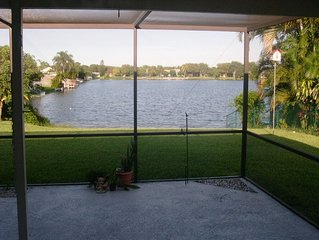 lake front house un pemroke pines florida