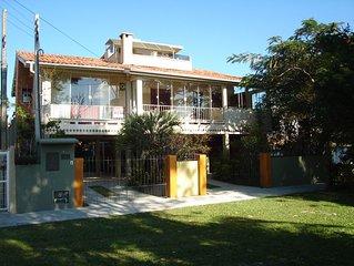 Casa 4Q frente mar panoramica TV wi-fi alarme ar