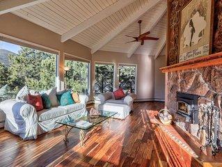 Panoramic, mountain VIEWS / Spacious home! 20mins Red Rocks; BIG kitchen; 2 Fire