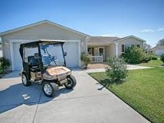 Vacation Home, Golf Cart, presented by RE/MAX Premier Property Management, holiday rental in The Villages