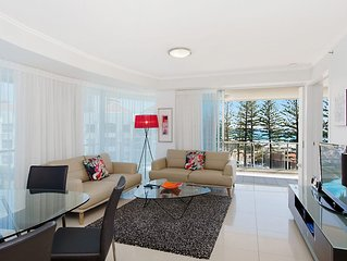 Reflections tower 2 Unit 401 - Beachfront, views and in a great location Wifi in