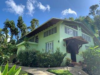 Private Rain Forest Home in El Yunque, Puerto Rico