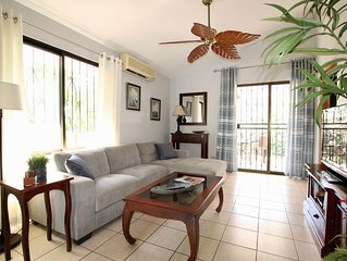 Bamboo Gardens #2 - Two bedroom with a large pool and tropical garden