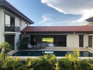 New Tropical Home at Hacienda Pinilla/JW Marriott walking to the beac