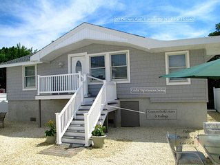 2019 LAVALLETTE New 3 BR Beach Home, C a/c Granite Kitchen 9 Houses from Beach