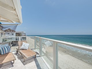 Sunrise Malibu Road Beachfront Penthouse