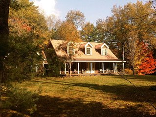 Charming and Spacious Vermont Farmhouse-  CHRISTMAS WEEK SPECIAL RATES