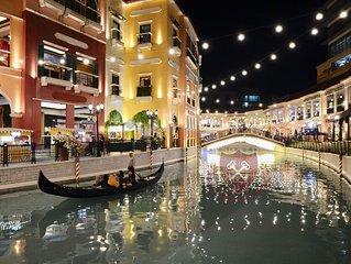 Venitian StudioSuite W/ Balcony~BGC-The Venice Grand Canal Mall