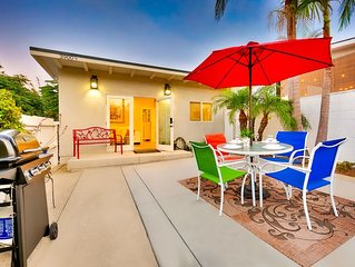 15% OFF to 6/15 - Beautiful Beach Casita w/ Outdoor Living Space+Walk to All