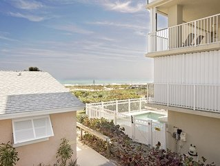 Appealing 2 br/1 bath - Linger on this private deck overseeing the Atlantic.