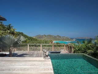 Villa Angelique - Luxury 4 Bedroom Villa with Private Pool Located in St Jean