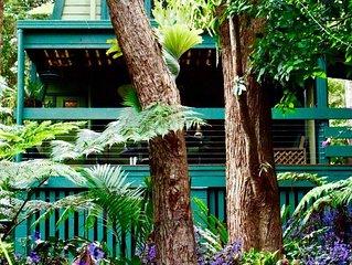 FernyBrook Cottage - rainforest retreat. Queensland, Australia
