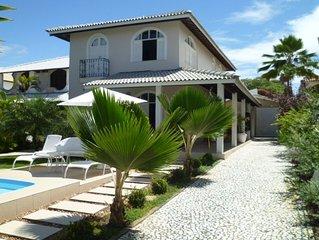 Casa de Praia, Guarajuba, Condominio Paraiso bem localizada, com piscina e Wi-Fi